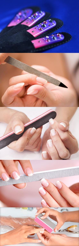 Виды пилок для ногтей
