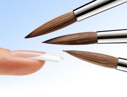 фото инструментов для наращивания ногтевых пластин с помощью акрил