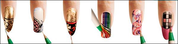 картинка прикольных вариантов дизайна ногтей