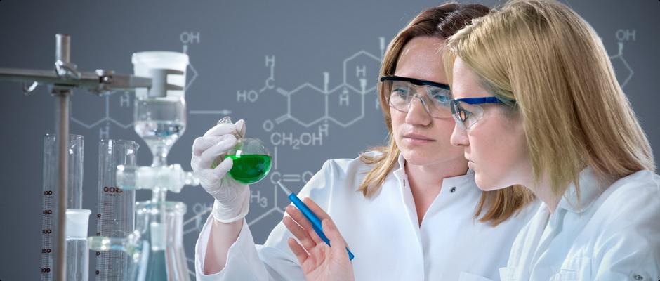 Тестирование гель лака в лаборатории